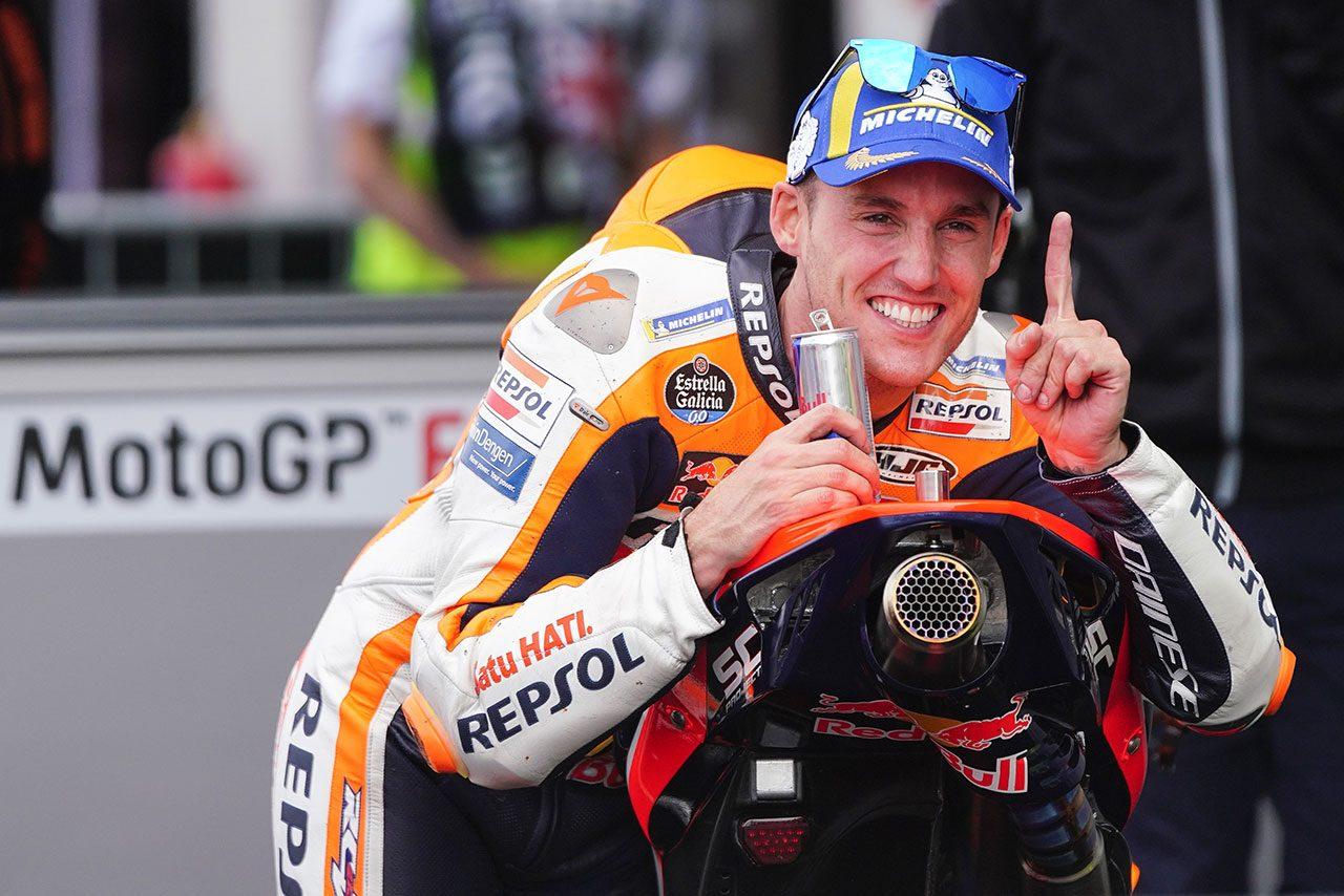 MotoGPコラム/第12戦イギリスGP:ポール獲得、自己ベスト5位でP.エスパルガロが浮かべた明るい表情