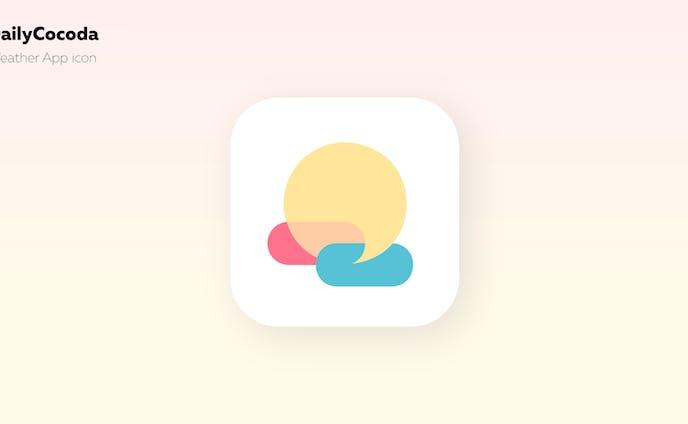 天気アプリのアイコン