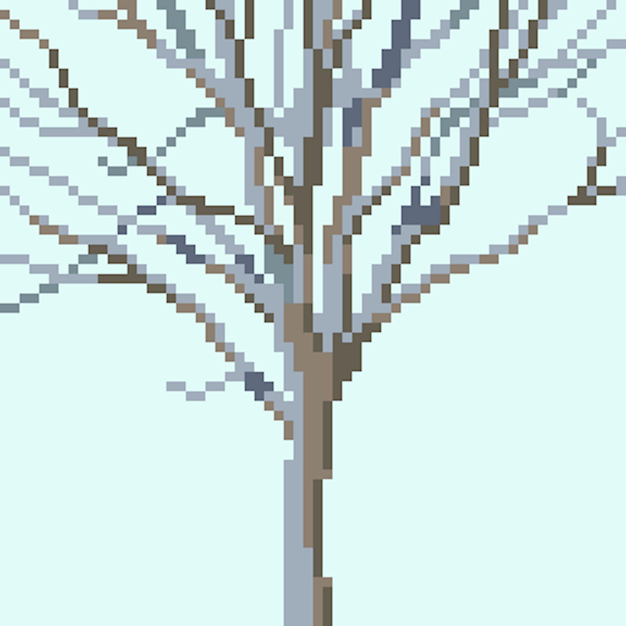 草木のドット絵-3