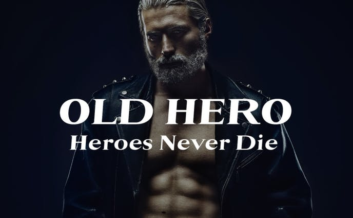 フリーフォント「OLD HERO」