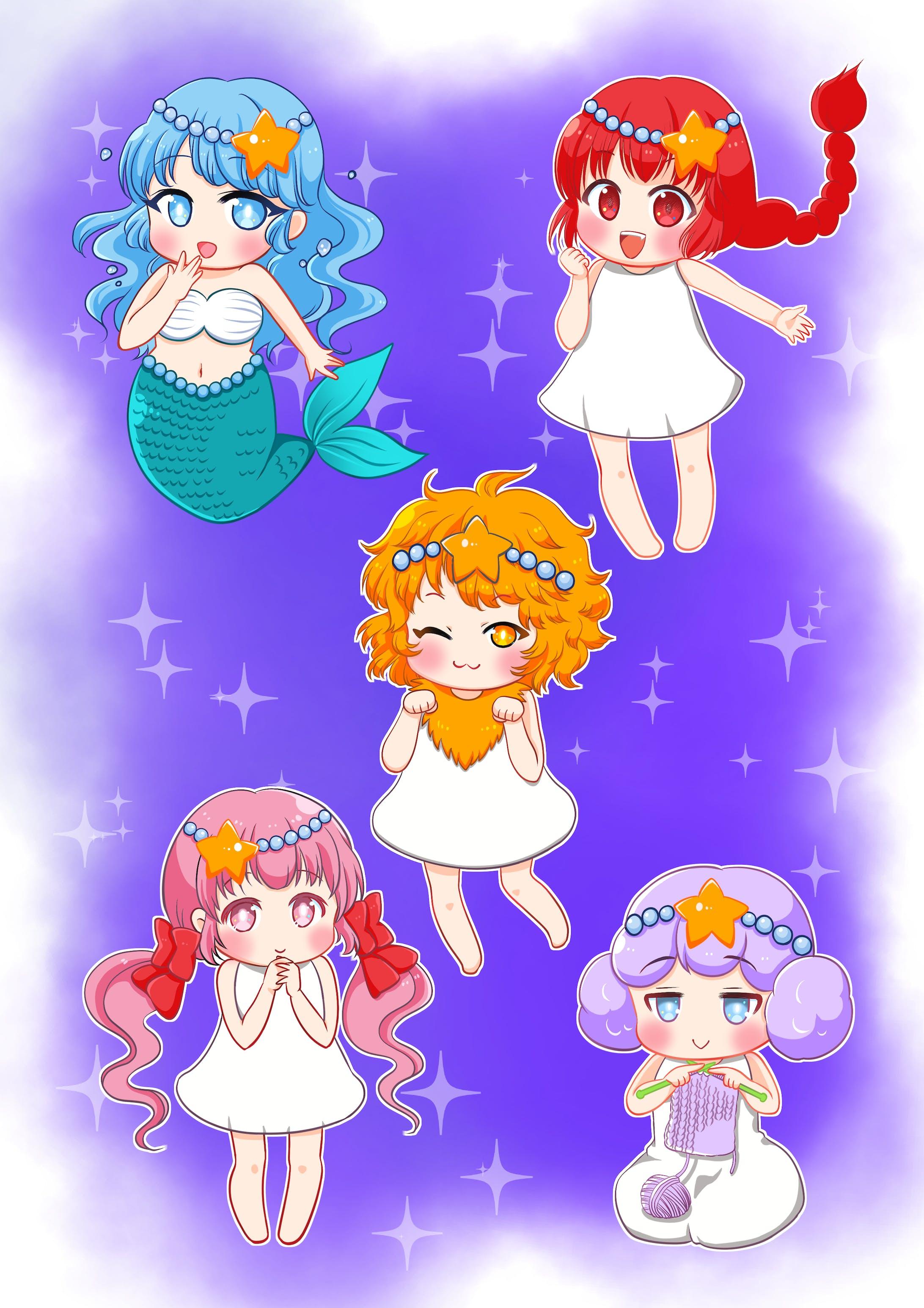 星座ミニキャラ-1