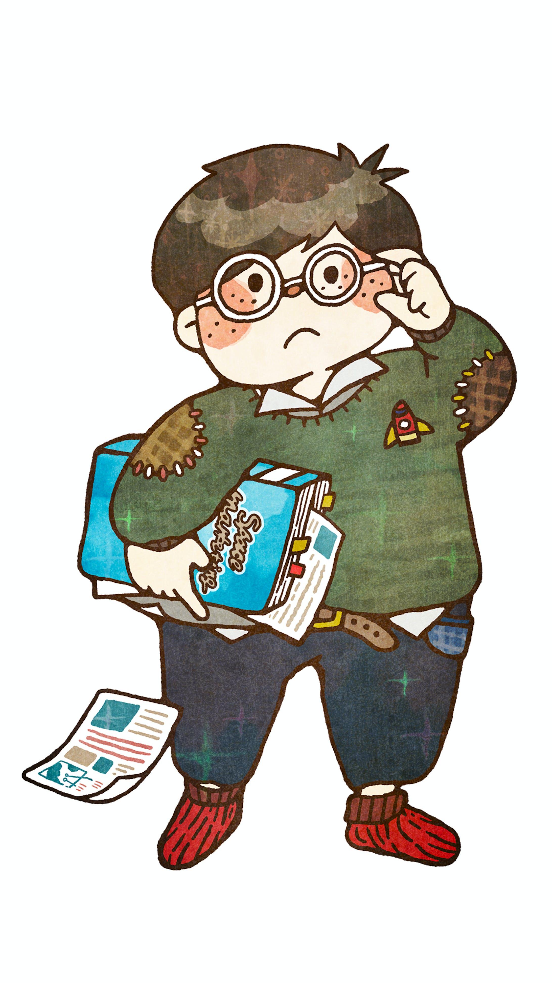 ゆめみる図書館少年-1