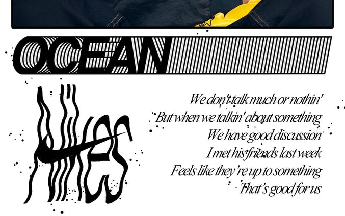 Nikes graphic  (Frank Ocean)