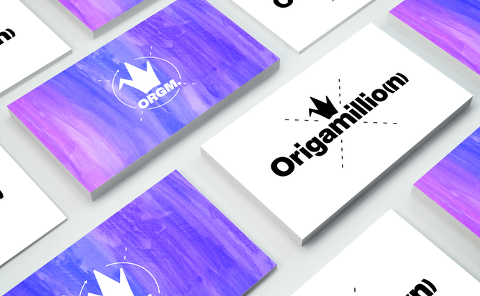 Origamillio(n) - ロゴ