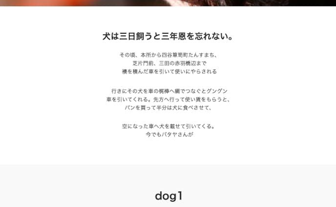 I am dog__demosite