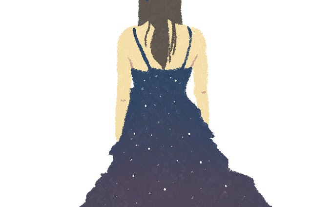 夜空ドレス