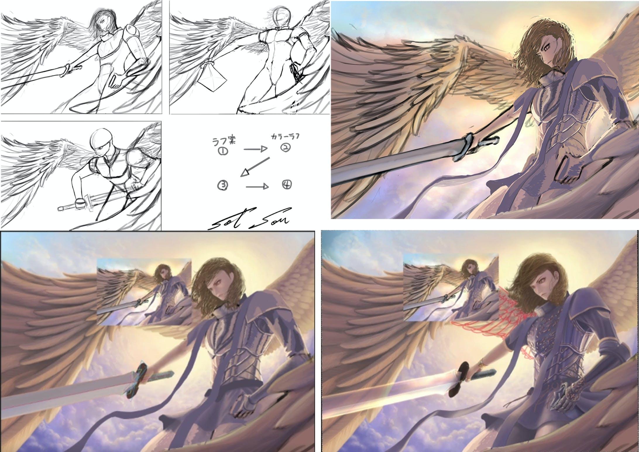 燦爛たる天使-5