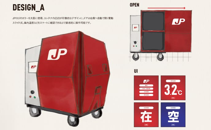 R/F Container プロダクトデザイン