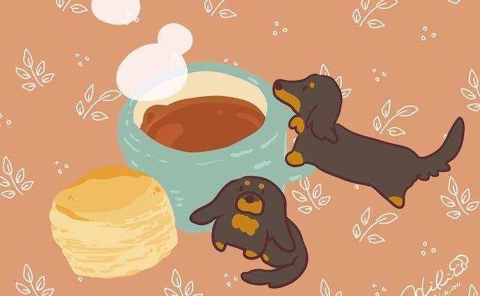 紅茶とわんこ