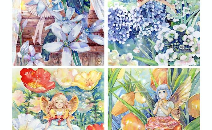 妖精のイラスト