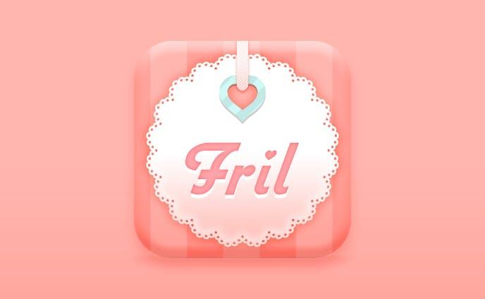 Fril v1.0 App Icon