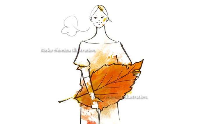 オリジナルイラスト--秋の収穫
