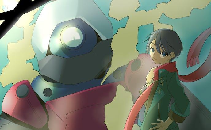 一枚絵 男子キャラ&ロボット