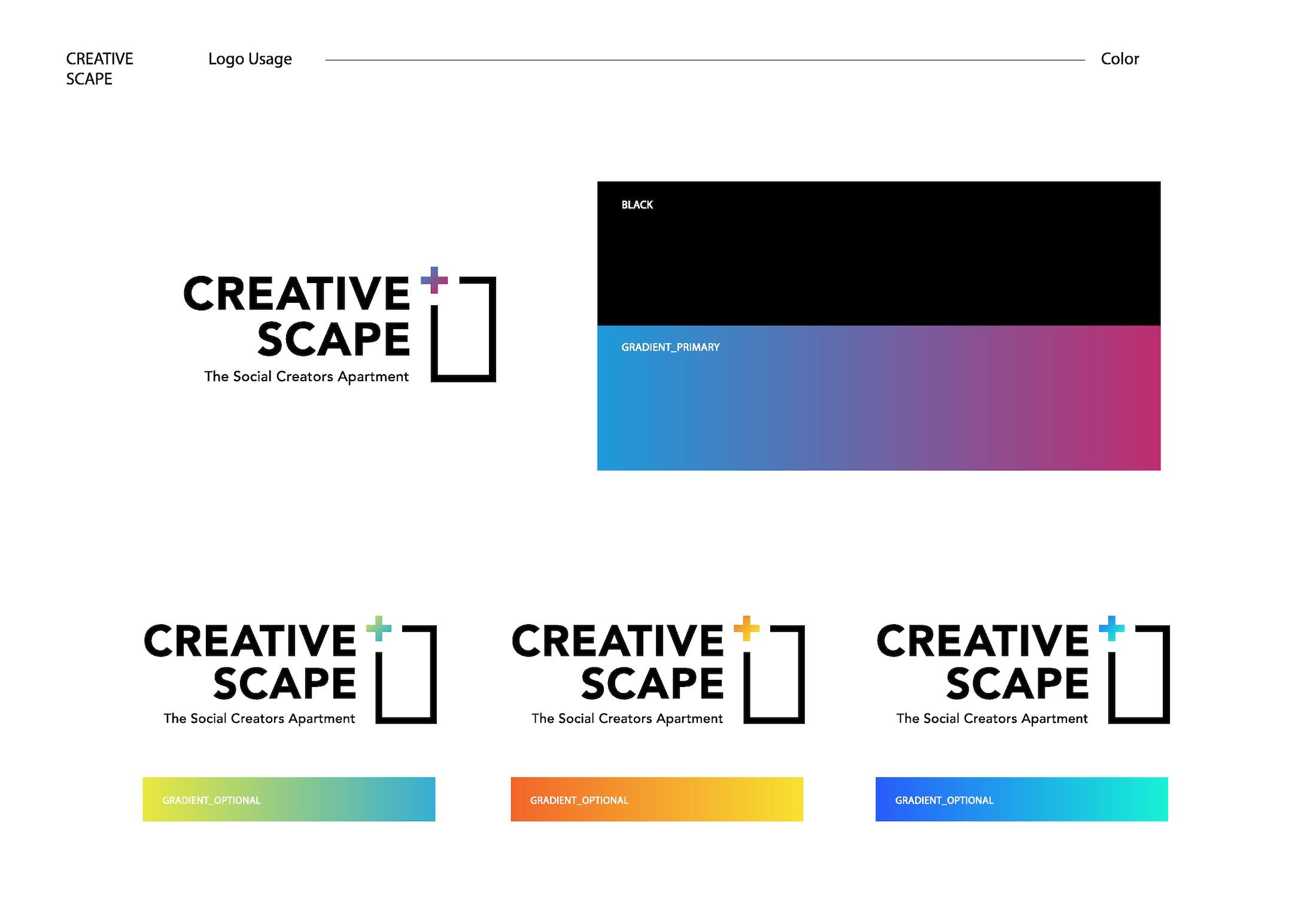 Creative Scape logo design-12