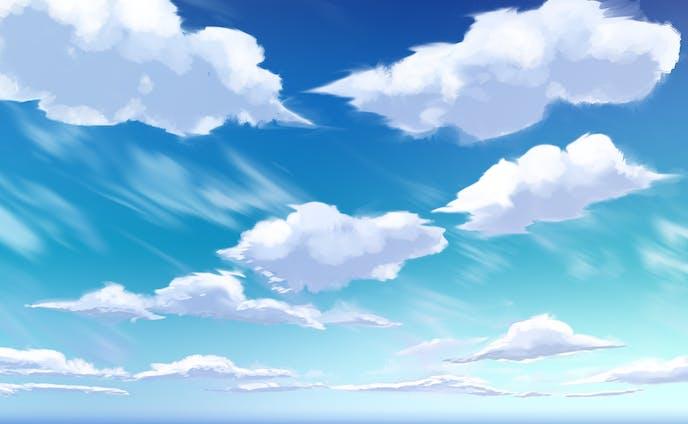 空の移り変わり