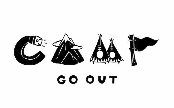 【イラスト】GO OUT MUSIC CAMP