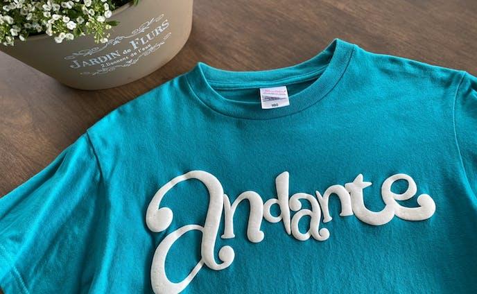 """定演Tシャツ""""andante"""""""
