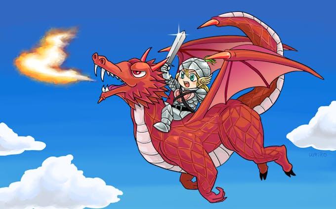 キャラクター、ドラゴン