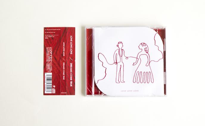 """""""DREAMS COME TRUE 「LOVE LOVE LOVE」""""   CD Re Design"""