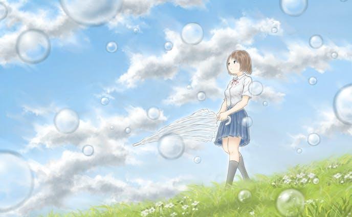 雨上がりの少女
