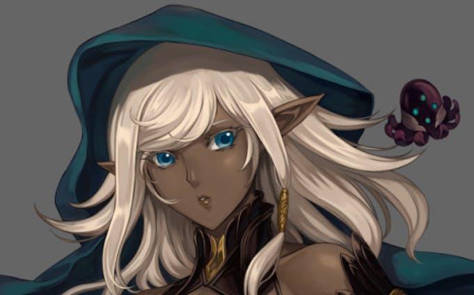 ダークエルフ(創作)Dark elf