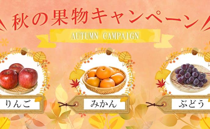 秋のキャンペーン画像