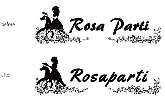 ロサパルティロゴベクター画像化