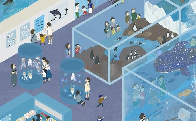 art_ippi 7月テーマ「水族館」