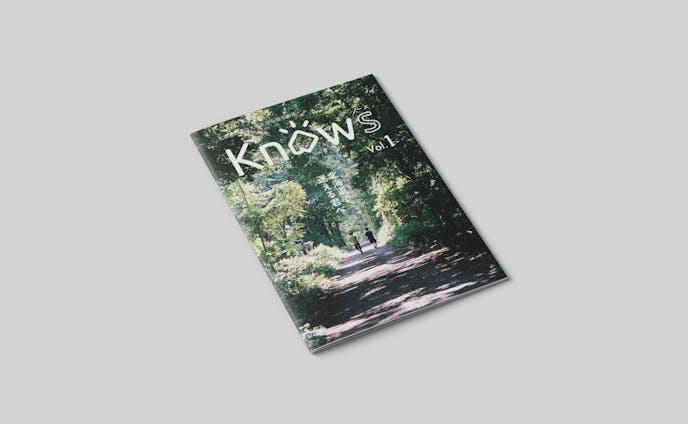 Knows vol.1/フリーペーパー