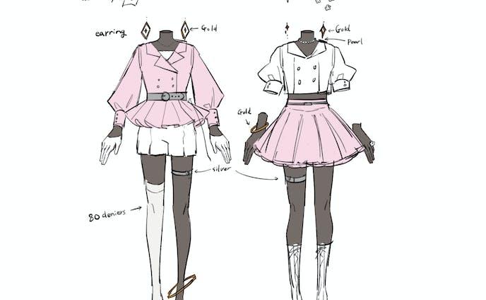 衣装デザイン