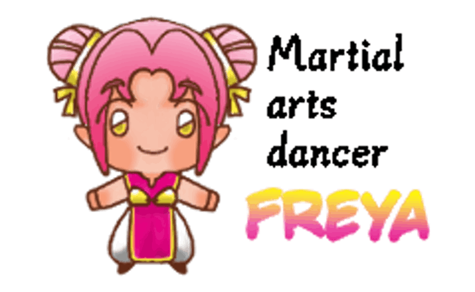 LINEスタンプ/武道の踊り子 フレイア