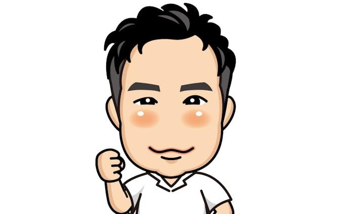 男性/似顔絵イラスト