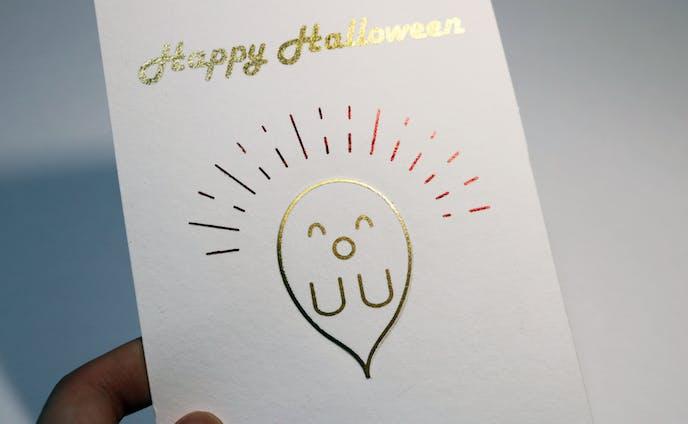 HappyHalloween グリーティングカード