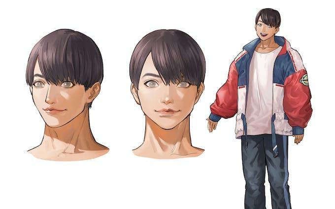 キャラクターデザイン(男)
