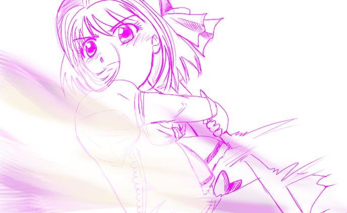 魔法っぽい女の子