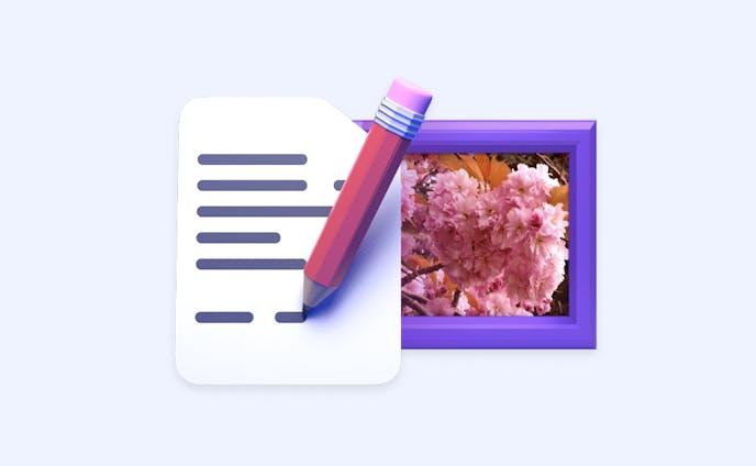 6 - 作品のストーリーを追加する Add extra info/story to your work