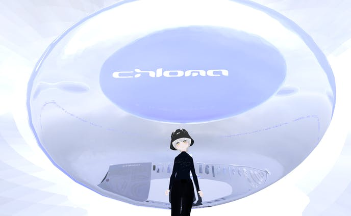 Chloma Virtual Store -Living In A Bubble- ワールド&楽曲制作