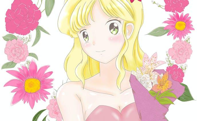 春の女神 フリージア
