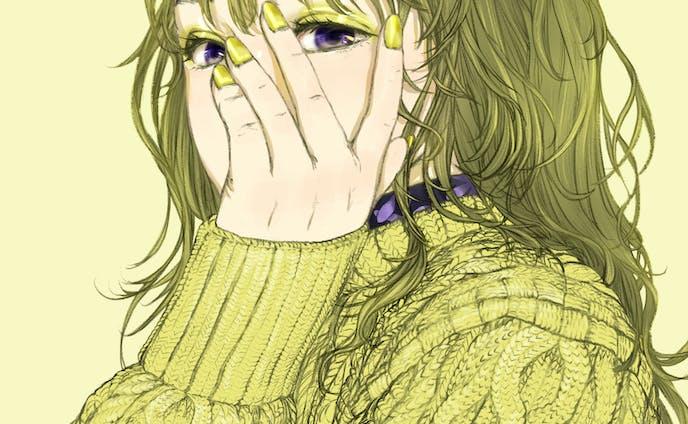 【カラーシリーズ】ライトイエロー×バイオレット