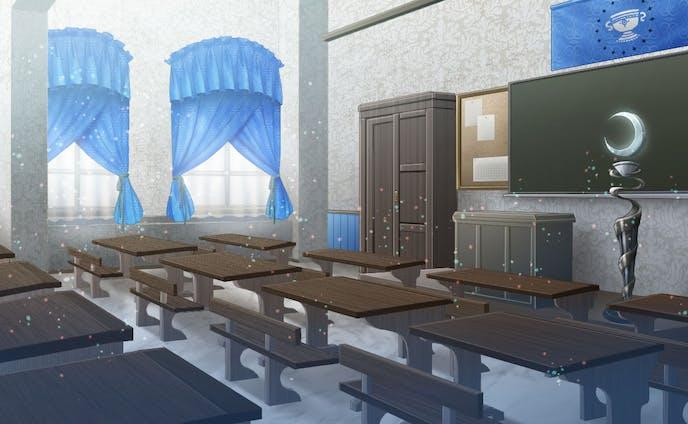 【依頼】魔法5大元素の各教室背景