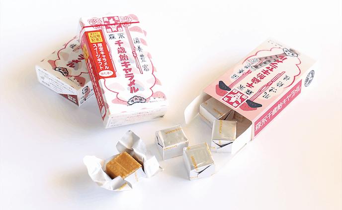 森永ミルクキャラメルオリジナルデザイン