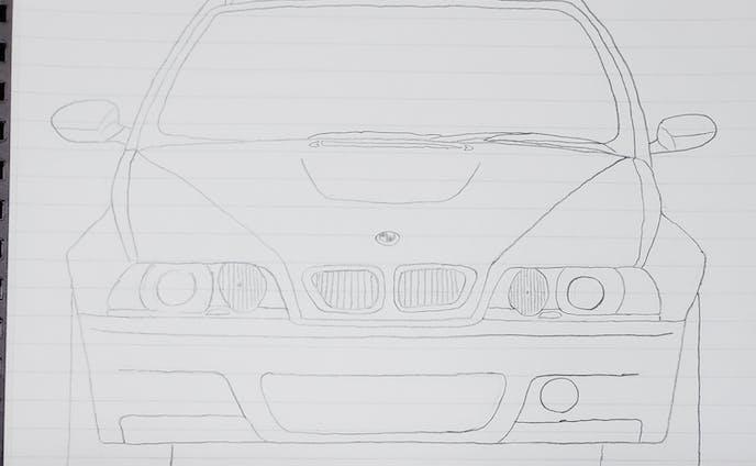 BMW E46 M3 CSL フロントデザイン
