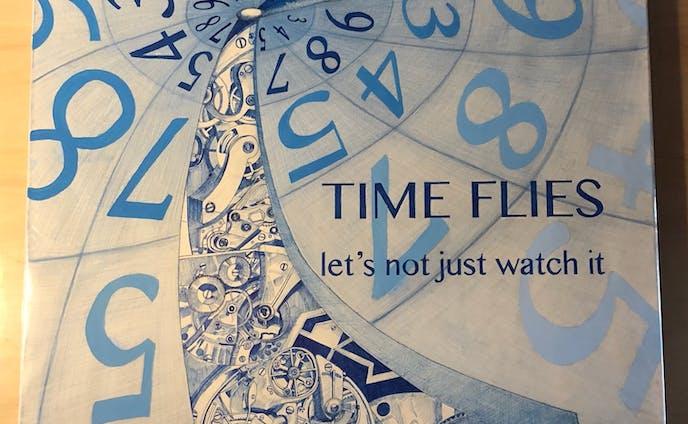 【芸文祭】TIME FLIES(光陰矢の如し)