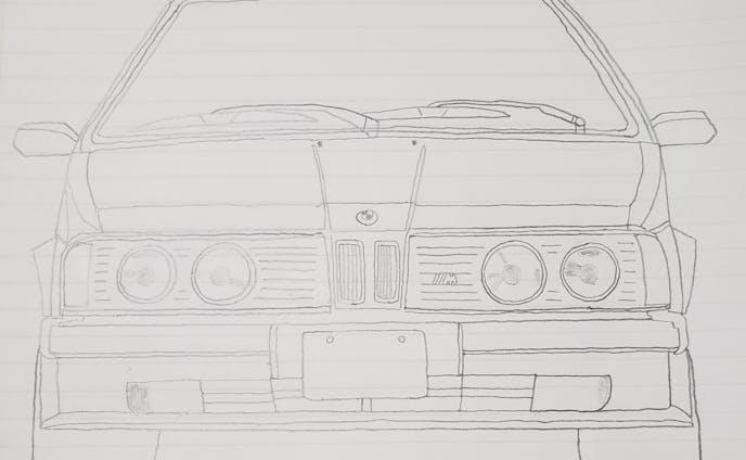 BMW E26 6シリーズ M Technic フロントデザイン