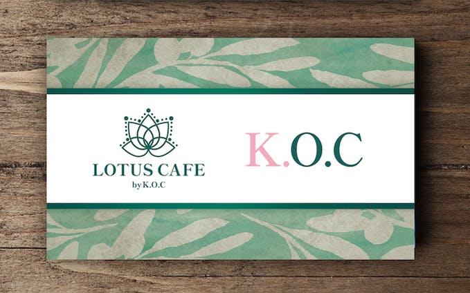 オーガニックカフェの名刺