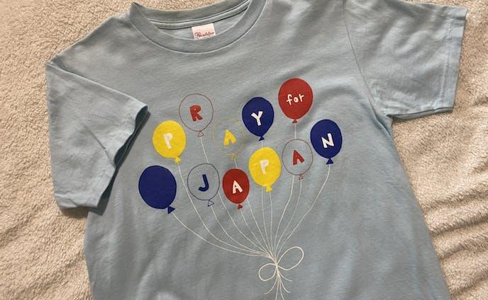 """定演Tシャツ""""PRAY for JAPAN"""""""