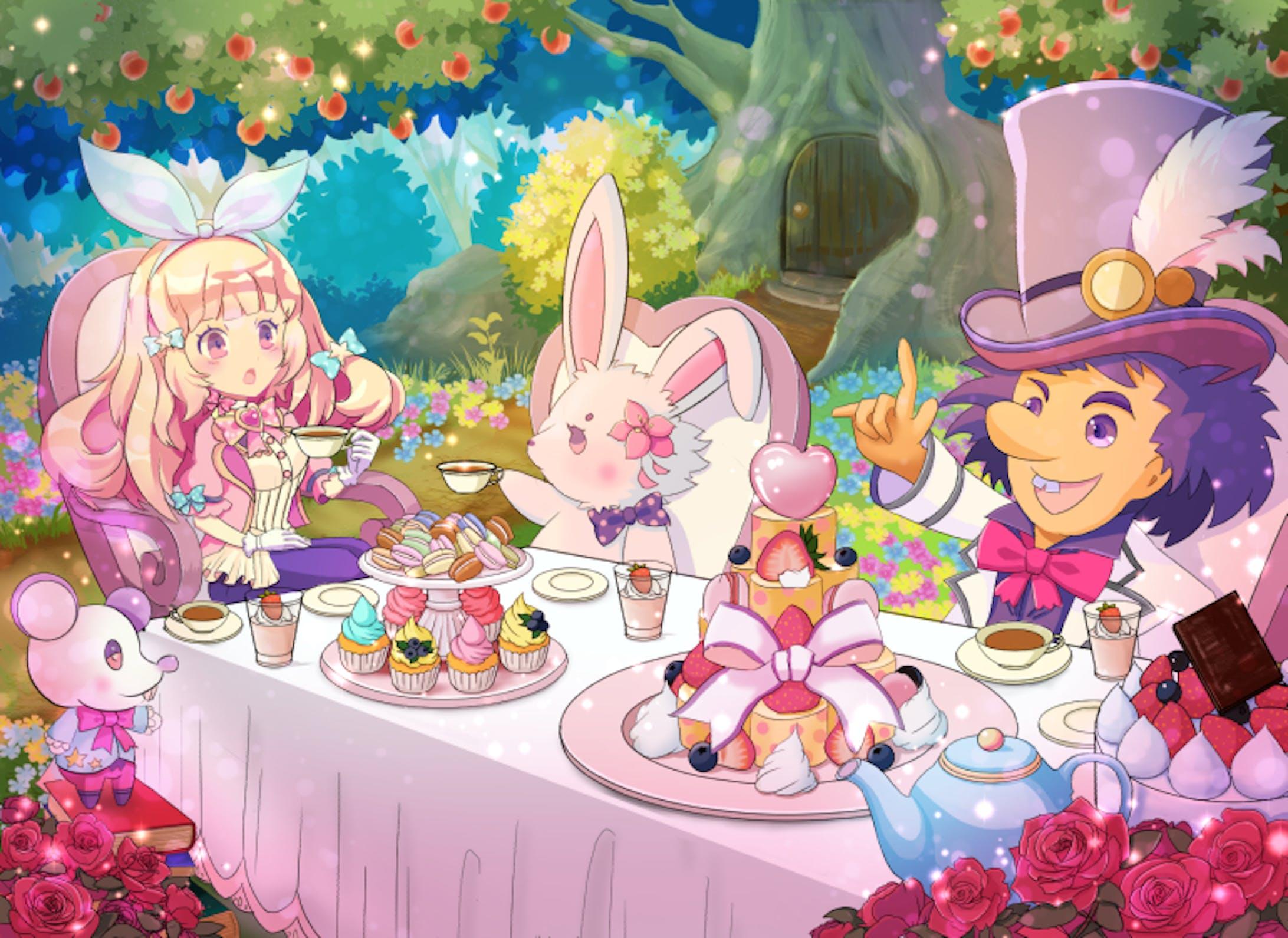 アリスのお茶会-1
