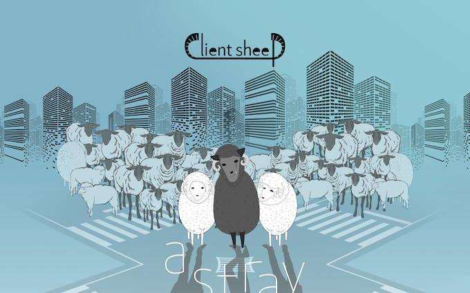 架空のバンド「Client sheep」