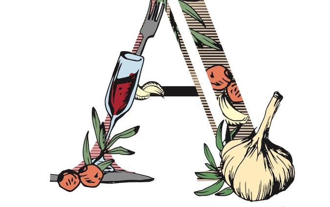 【ご提案】イタリアンレストラン「Casa Aglio」のロゴ案