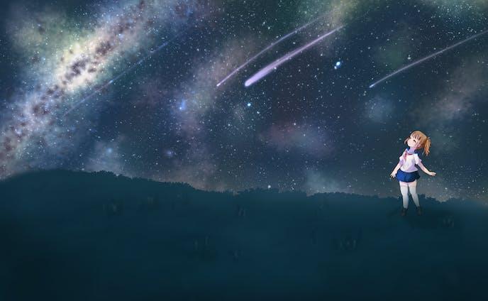 雄大な銀河